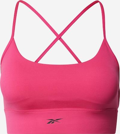 Sutien sport REEBOK pe roz / negru, Vizualizare produs