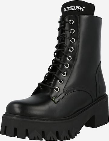 juoda PATRIZIA PEPE Suvarstomieji batai