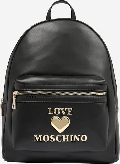 Love Moschino Ruksak u crna: Prednji pogled