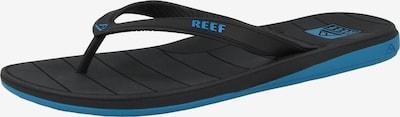 REEF Strand-/badschoen 'Switchfoot LX' in de kleur Blauw / Zwart, Productweergave