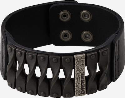 DIESEL Bracelet en noir, Vue avec produit