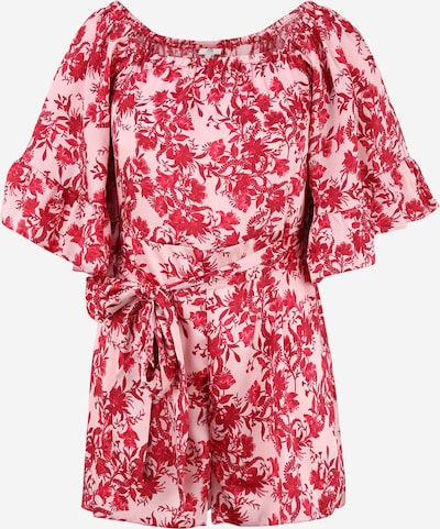 River Island Petite Jumpsuit 'BARDOT' in rosa / rot, Produktansicht
