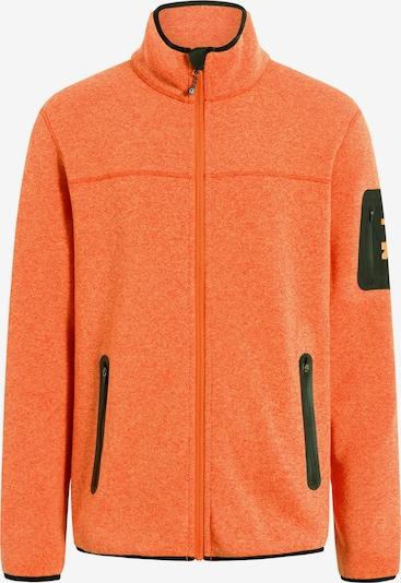 Sea Ranch Fleece jas 'Sidney' in de kleur Sinaasappel / Zwart, Productweergave