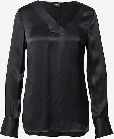 s.Oliver BLACK LABEL Blouse in black, Item view