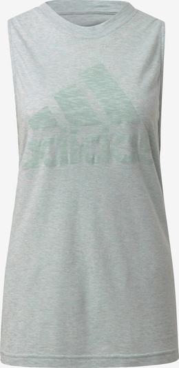 ADIDAS PERFORMANCE Sporttop in de kleur Mintgroen / Wit, Productweergave