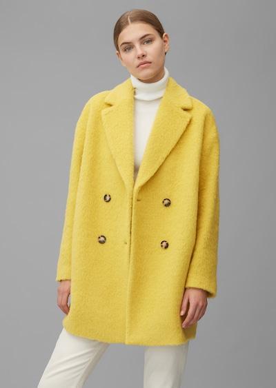 Marc O'Polo Mantel in gelb, Modelansicht