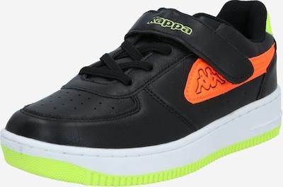 KAPPA Sneaker 'Bash' in neongelb / koralle / schwarz / weiß, Produktansicht
