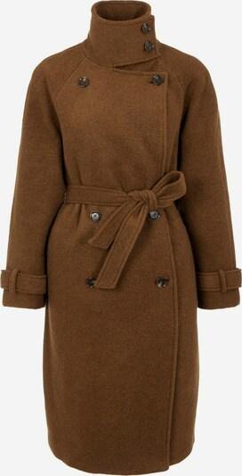 OBJECT Manteau mi-saison en marron, Vue avec produit