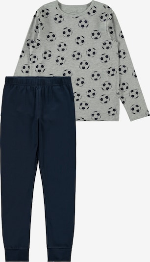 NAME IT Pajamas in Navy / Grey mottled, Item view