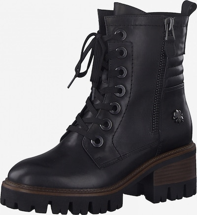 MARCO TOZZI by GUIDO MARIA KRETSCHMER Lace-Up Ankle Boots in Black / Silver, Item view