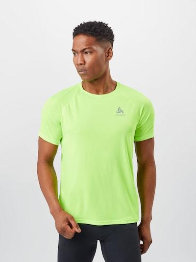 ODLO Функционална тениска 'Essential' в светлозелено: Изглед отпред