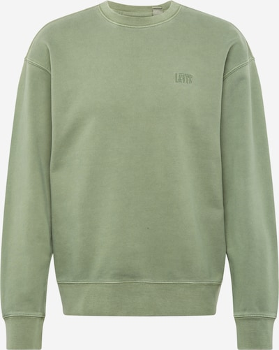 LEVI'S Sweatshirt 'AUTHENTIC' in de kleur Pastelgroen, Productweergave