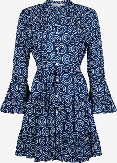 Isla Ibiza Bonita Zomerjurk in de kleur Blauw, Productweergave