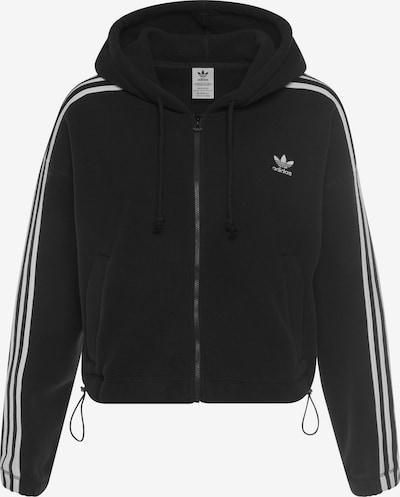 ADIDAS ORIGINALS Bluza polarowa w kolorze czarny / białym, Podgląd produktu