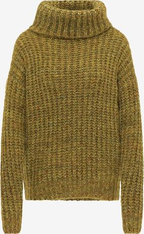 usha FESTIVAL Υπερμέγεθες πουλόβερ σε πράσινο