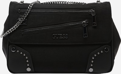 GUESS Crossbody bag 'FRANKIE' in Black / Silver, Item view