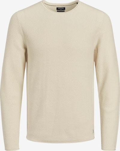 JACK & JONES Pullover 'Carlos' in wollweiß, Produktansicht
