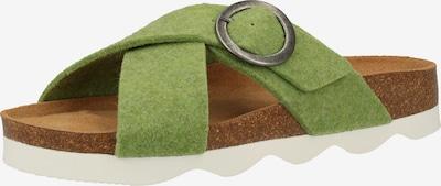 SHEPHERD Hausschuhe in hellgrün, Produktansicht