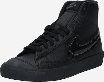Nike Sportswear Baskets hautes 'Blazer' en gris foncé / noir, Vue avec produit