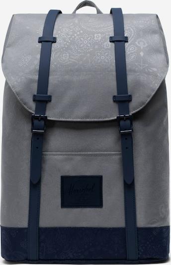 Herschel Rucksack 'Retreat Classics' in grau / schwarz, Produktansicht