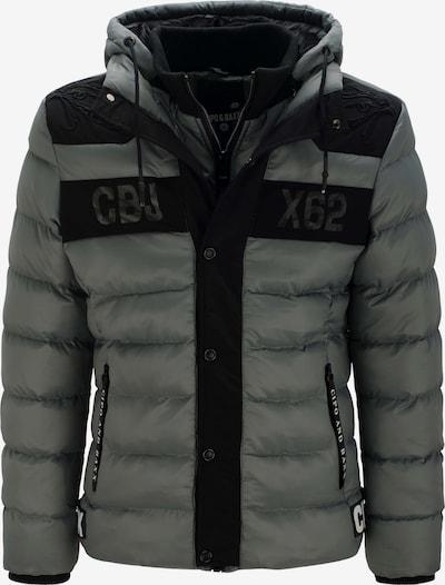 CIPO & BAXX Steppjacke 'Cbjx62' in dunkelgrau, Produktansicht