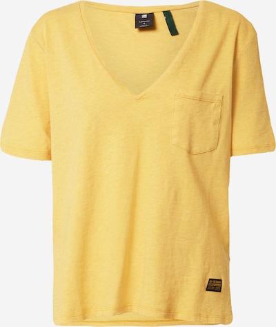G-Star RAW Shirt in gelb, Produktansicht