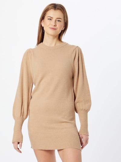 Rochie tricotat Miss Selfridge pe bej, Vizualizare model