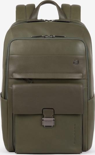Piquadro Rucksack in grün, Produktansicht