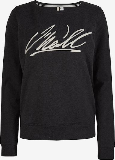 O'NEILL Sweatshirt 'Cali Crew ' in de kleur Zwart / Wit, Productweergave