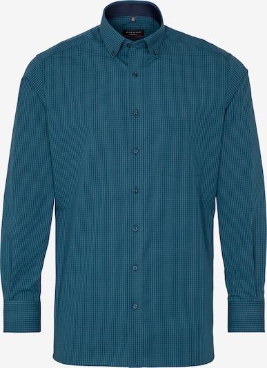 ETERNA Zakelijk overhemd in de kleur Petrol, Productweergave