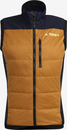 adidas Terrex Weste in orange / schwarz, Produktansicht