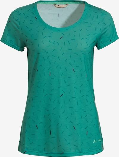 VAUDE T-Shirt 'Skomer' in grün / jade / tanne, Produktansicht