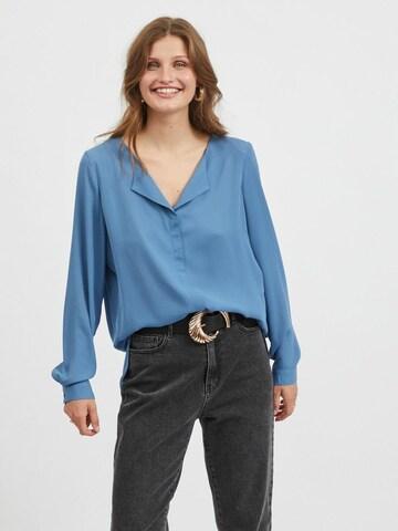 VILA Bluse in Blau