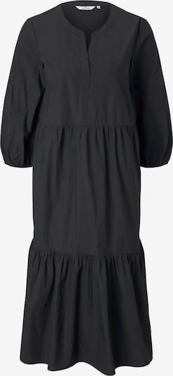 TOM TAILOR Μπλουζοφόρεμα σε μαύρο, Άποψη προϊόντος