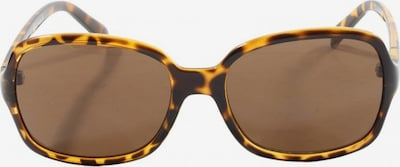 MORE & MORE eckige Sonnenbrille in One Size in braun / pastellgelb, Produktansicht