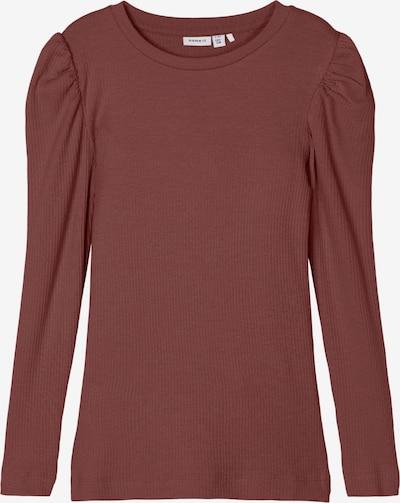 Tricou 'Kabexi' NAME IT pe roșu merlot, Vizualizare produs