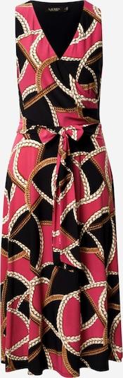 Lauren Ralph Lauren Šaty 'CARANA' - zlatá / ružová / čierna / biela, Produkt