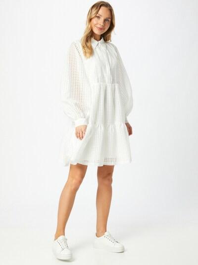 Rochie tip bluză Designers Remix pe crem, Vizualizare model