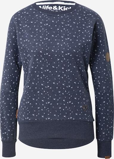 Alife and Kickin Sweat-shirt 'Darla' en marine / bleu clair, Vue avec produit