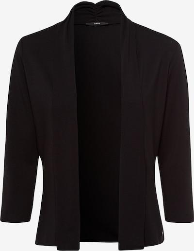 zero Sweatjacke in schwarz, Produktansicht