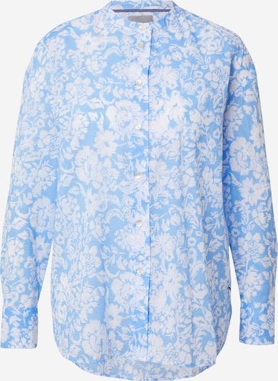 LIEBLINGSSTÜCK Bluse 'Ravna' in hellblau / weiß, Produktansicht