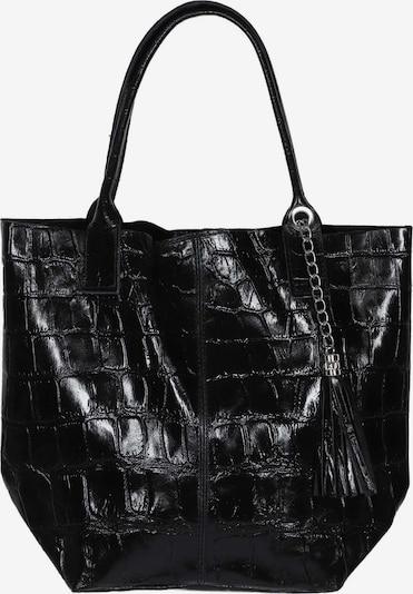 Zwillingsherz Shopper in schwarz, Produktansicht