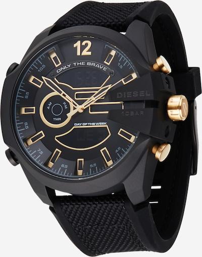 DIESEL Digitaalinen kello värissä kulta / musta, Tuotenäkymä