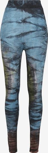 Urban Classics Pajkice | nebeško modra / temno rjava / svetlo zelena / črna barva, Prikaz izdelka