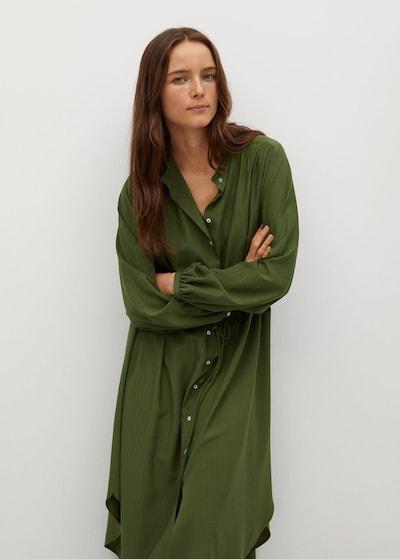 MANGO Kleid  'Farm' in khaki, Modelansicht