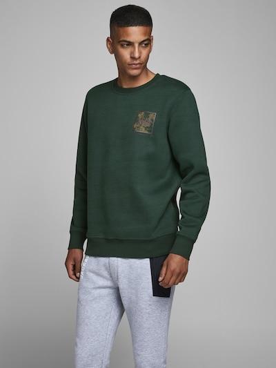 JACK & JONES Sweatshirt in de kleur Groen: Vooraanzicht