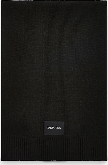 Calvin Klein Schal in schwarz / weiß, Produktansicht