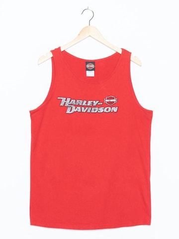 Harley Davidson Tank-Top in M-L in Rot