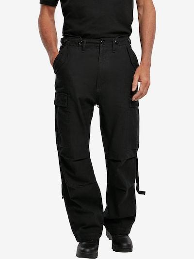 Brandit Hose in schwarz, Modelansicht