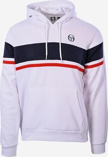 Sergio Tacchini Sweatshirt 'Foshan' in dunkelblau / rot / weiß, Produktansicht